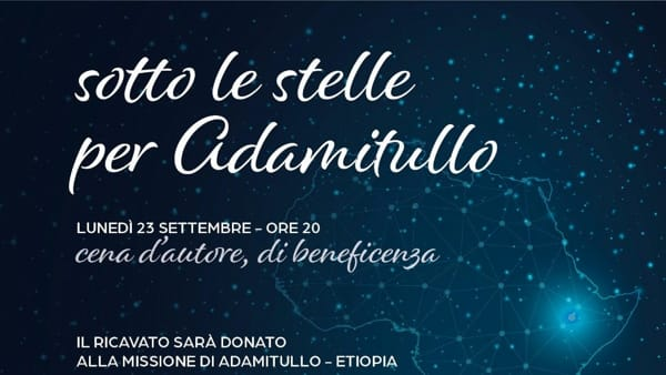 """Sotto le stelle per Adamitullo"", cena d'autore e di beneficenza all'Antica Trattoria Ballotta - evento sold out"