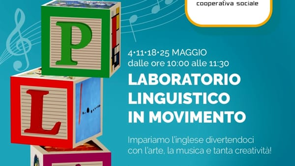 Laboratorio linguistico in movimento: imparare l'inglese divertendosi