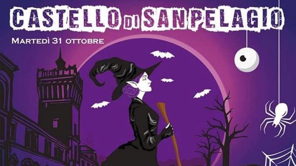 Halloween al castello di San Pelagio