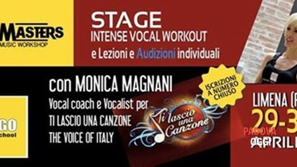 Workshop e lezioni con Monica Magnani alla Daigo Music School