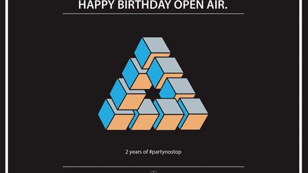 Open Air//2 years of #partynostop with Idriss D, musica al Castello di Valbona