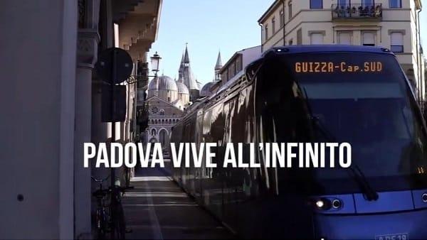 """""""Padova vive all'infinito, Padova non si ferma"""": il video dell'Ascom è un invito a non mollare"""
