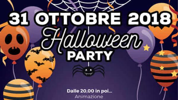 Halloween party alla ludoteca del parco É Fantasia