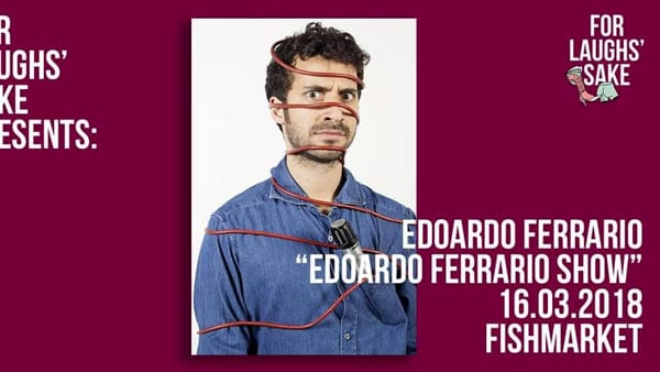 Stand Up Comedy ■ Edoardo Ferrario-2