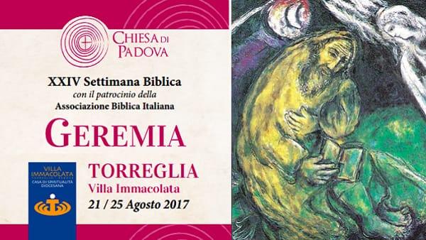 XXIV Settimana Biblica a Torreglia