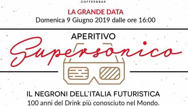 """""""Aperitivo supersonico"""", il Negroni dell'Italia futuristica al bar di Radici"""
