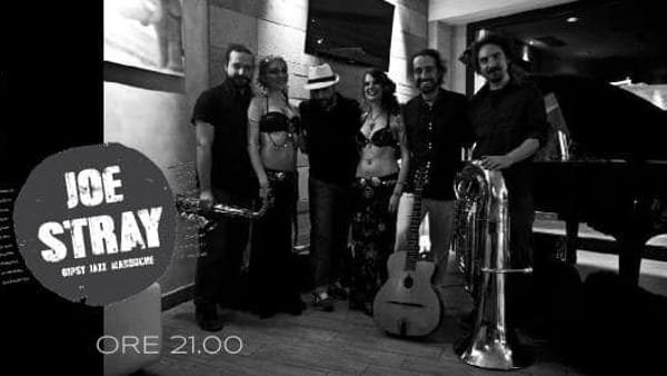 Joe Stray in concerto a Le Staffe