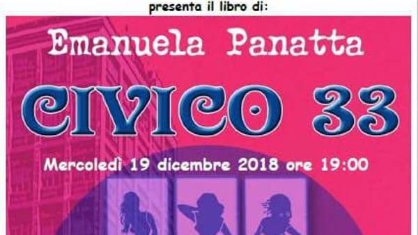 """Incontro con l'autore, Emanuela Panatta presenta il libro """"Civico 33"""" alla pasticceria Wiennese"""