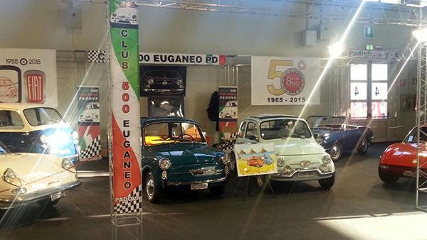 Quarto raduno di auto storiche e Fiat 500 a Campodoro