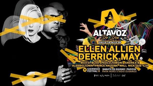 AltaVoz De Dia con Ellen Allien e Derrick May a Sherwood Festival
