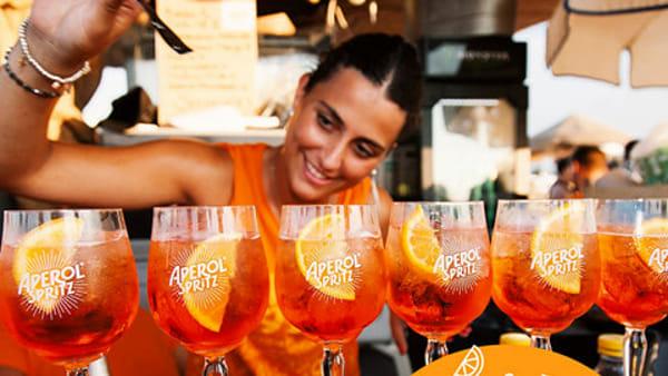 #HappyTogether in piazza dei Signori:brindisi e divertimento targati Aperol Spritz