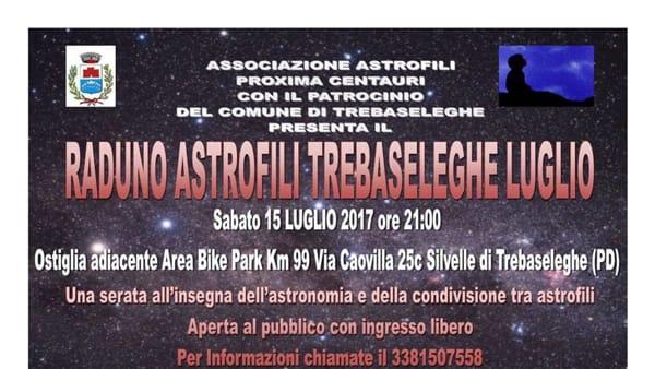 Raduno degli astrofili a Trebaseleghe