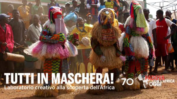Tutti in maschera: laboratorio creativo alla scoperta delle maschere africane