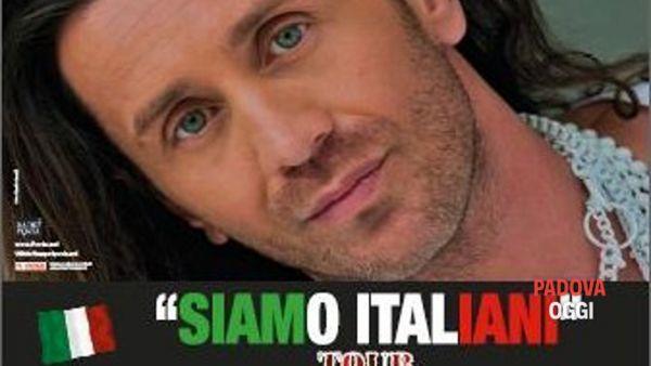 """Povia: """"Siamo italiani tour 2014"""" Lo spettacolo che vuole la gente"""