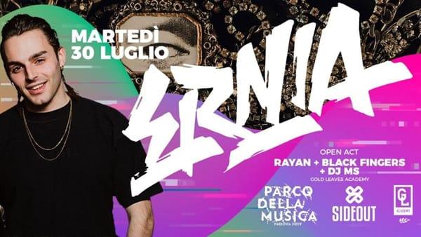 Ernia live al parco della Musica di Padova