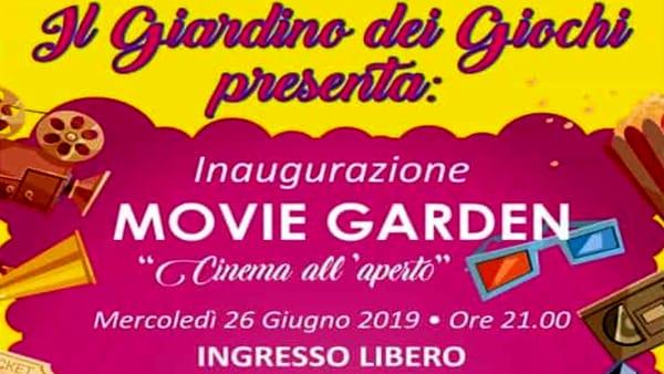 """Il Giardino dei Giochi presenta """"Movie garden"""" a Villa Francesconi Lanza"""