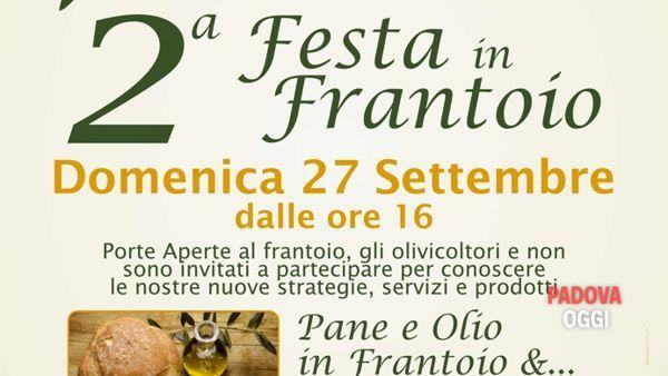 """2° Festa in frantoio """"Evo del borgo"""" di Arquà Petrarca"""
