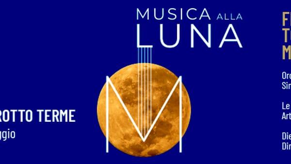 Fly me to the Moon, musica alla lunain piazza I maggio a Montegrotto Terme