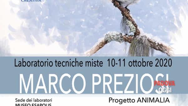 Workshop di pittura naturalistica al Museo Esapolis di Padova