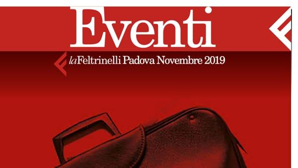 LaFeltrinelli di Padova, tutti gli eventi in programma a novembre