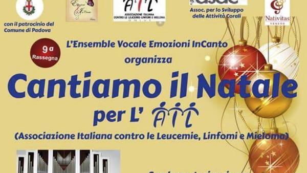 """Rassegna corale """"Cantiamo il Natale 2018"""" concerto a favore dell'Ail alla Chiesa San Marco Evangelista"""