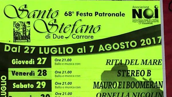 Festa patronale di Santo Stefano di Due Carrare 68esima edizione
