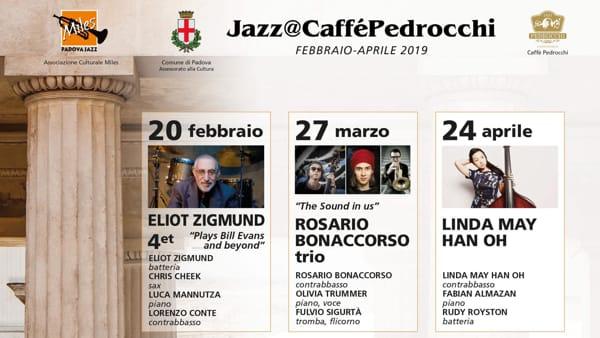 Jazz@Pedrocchi, Linda May Han Oh, Fabian Almazan e Rudy Royston al Pedrocchi