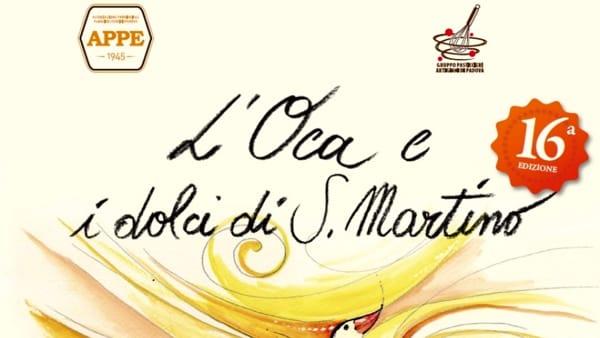 """""""A tavola con l'Oca di San Martino"""": portate e menu a tema in moltilocali padovani"""