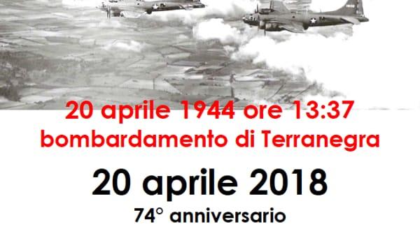 Anniversario del bombardamento di Terranegra, la cerimonia commemorativa