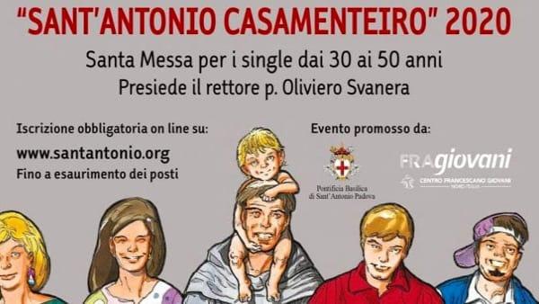 """Sant'Antonio """"casamenteiro"""": la celebrazione per chi cerca l'anima gemella"""