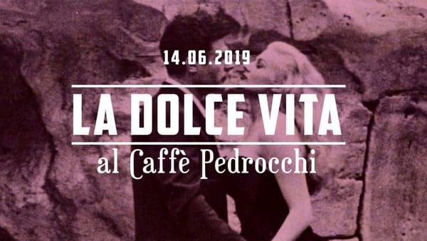 """Sonore degustazioni con """"La dolce vita"""":cena di gala felliniana e concerto al Caffè Pedrocchi"""