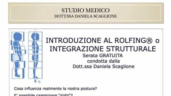 Serata di introduzione al rolfing® o integrazione strutturale a Teolo