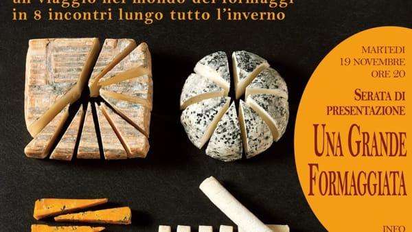 """""""Una grande formaggiata"""", presentazione e degustazione all'Osteria Volante a Torreglia"""