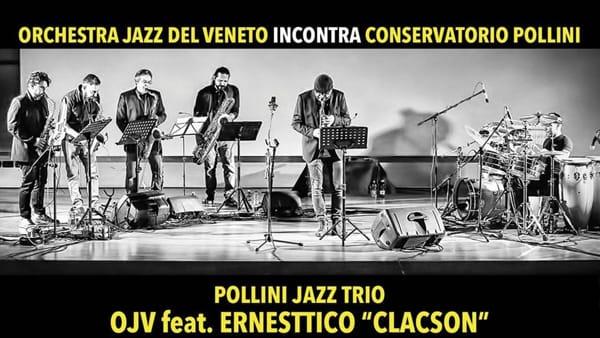 Pollini jazz trio: l'Orchestra jazz del Veneto incontra il conservatorio Pollini al teatro delle Maddalene