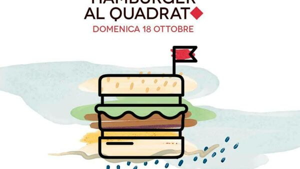 """Hamburger al quadrato"", october edition, all'R2 Coffeebar"