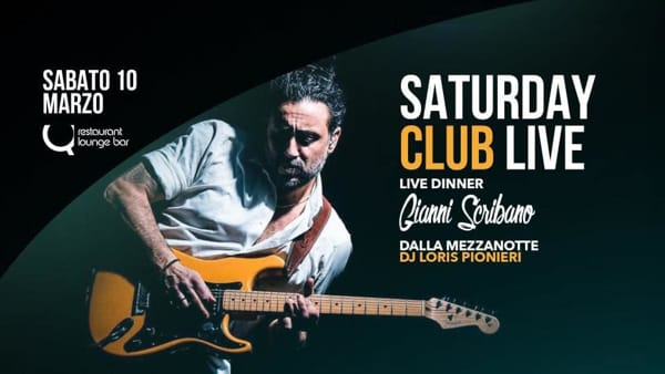 Gianni Scribano • live dinner Q bar-2