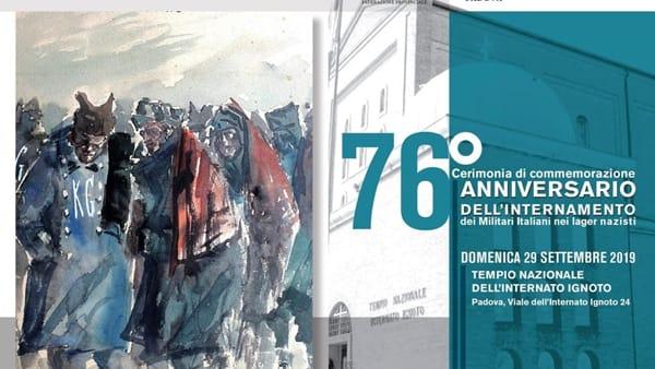 76esimo anniversario dell'Internamento, cerimonia di commemorazione a Padova