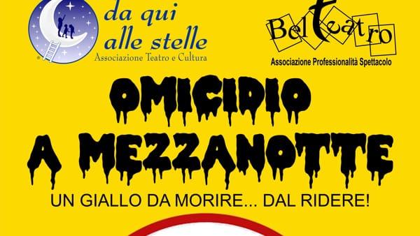"""""""Omicidio a Mezzanotte"""", spettacolo a palazzo Zuckermann"""