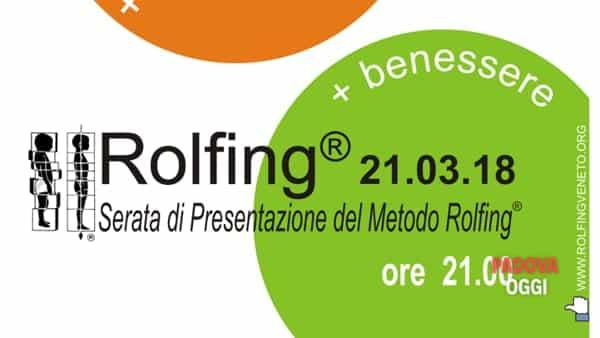Serata di presentazione del metodo Rolfing® alla Polisportiva Vigodarzere