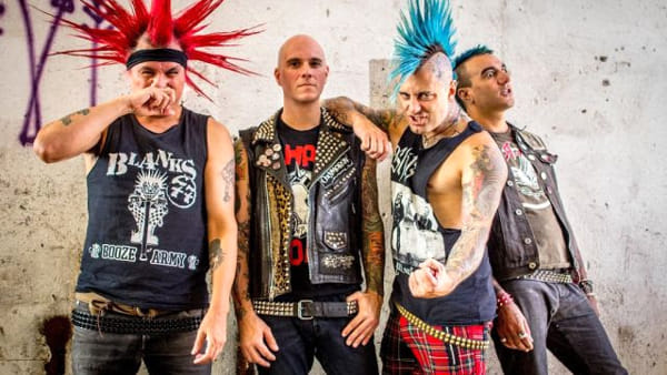 The Exploited + The Casualties 2-2