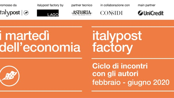 """I martedì dell'economia: """"L'Emilia e il Veneto. Modelli a confronto"""" all'ItalyPost Factory by Lago"""