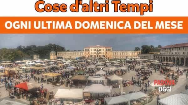 """A Piazzola sul Brenta il mercatino dell'antiquariato """"Cose d'altri tempi"""""""