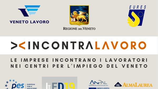 IncontraLavoro a Padova: le imprese incontrano i lavoratori nei Centri per l'impiego