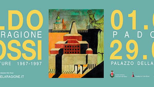 """Mostra """"Aldo Rossi e la Ragione. Architetture 1967-1997"""" a palazzo della Ragione"""