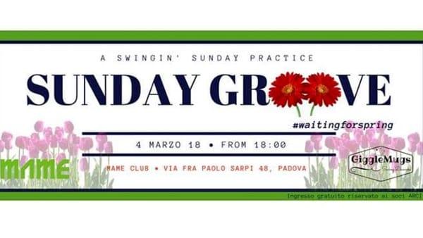 Sunday Groove - A Swingin' Sunday Practice #waitingforspring-2