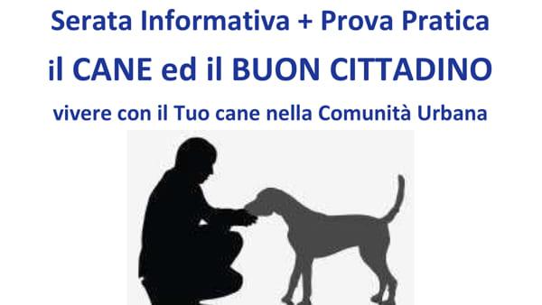 """""""Il cane buon cittadino"""", incontri a Selvazzano"""