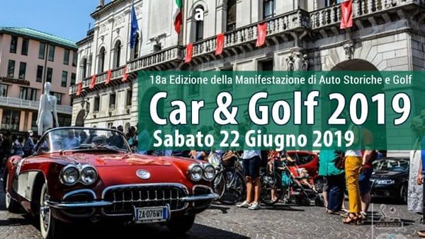 """""""Car&Golf- Trofeo Città di Padova"""", le auto storiche attraversano Padova e la provincia"""