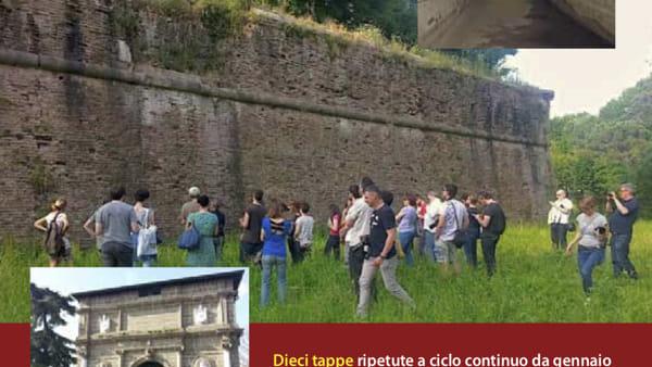"""""""Gira le mura!"""", dal torrione Santa Giustina al baluardo Cornaro"""