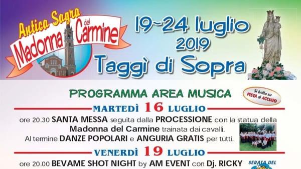 Antica sagra del Carmine a Taggì di Sopra