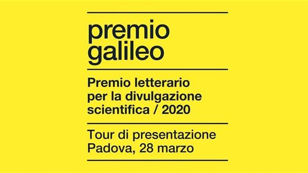Incontro con gli autori finalisti del Premio letterario Galileo 2020 (on line)